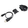 Red Cycling Products Power LED USB Zestaw oświetlenia czarny